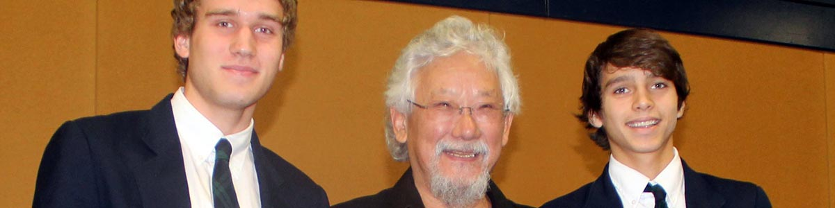 Speaker Series David Suzuki