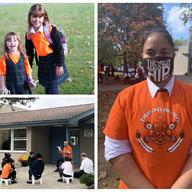 Students Commemorate and Honour #OrangeShirtDay